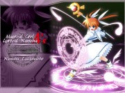 Mahou Shoujo Lyrical Nanoha Wallpaper