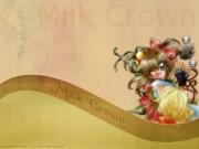 Milk Crown (Series) Wallpaper
