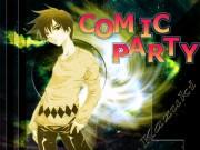 Comic Party Wallpaper