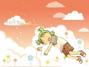 Yotsubato! Wallpaper