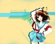 The Melancholy of Suzumiya Haruhi Wallpaper