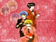 CLAMP School Detectives Wallpaper
