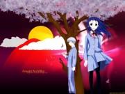 Asagiri no Miko Wallpaper