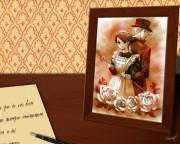 Victorian Romance Emma Wallpaper