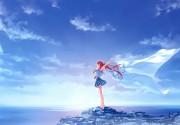 Deep Blue Sky & Pure White Wings