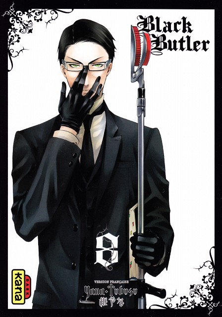 Yana Toboso, A-1 Pictures, Kuroshitsuji, William T. Spears, Manga Cover
